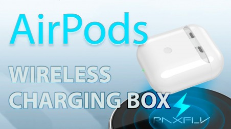AirPods wireless charging box